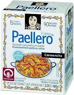 Paellero Zafferano Spagnolo Qualità Spice 15 utilizza Paella Originale Carmencita