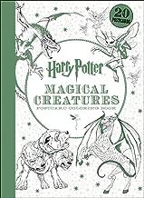 Harry Potter Magical Creatures Postcard Coloring Book