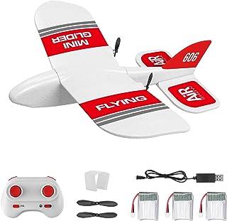 KF606 2.4G RC Airplane Flying Aircraft for Beginner EPP Foam Glider Fixed Wing Airplane RTF Foam Plane Remote Control Glid...