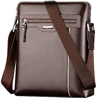 Business Bag Leather Men's Laptop Bag Slung Shoulder Bag Bag Leather Cowhide