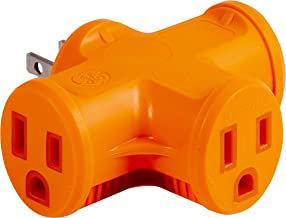 Best t shaped outlet adapter Reviews