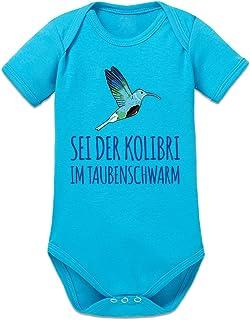 Shirtcity Sei der Kolibri im Taubenschwarm Baby Strampler by
