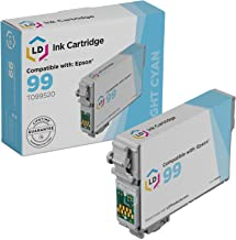 LD Remanufactured Ink Cartridge Replacement for Epson 99 T099520 (Light Cyan)