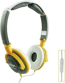 Qulmax ® Vodafone Smart Prime 6 Smartphone 5 Inch Amarillo Plegable Giratoria Auriculares HD ( HSQ09 ) con Micrófono y Mando
