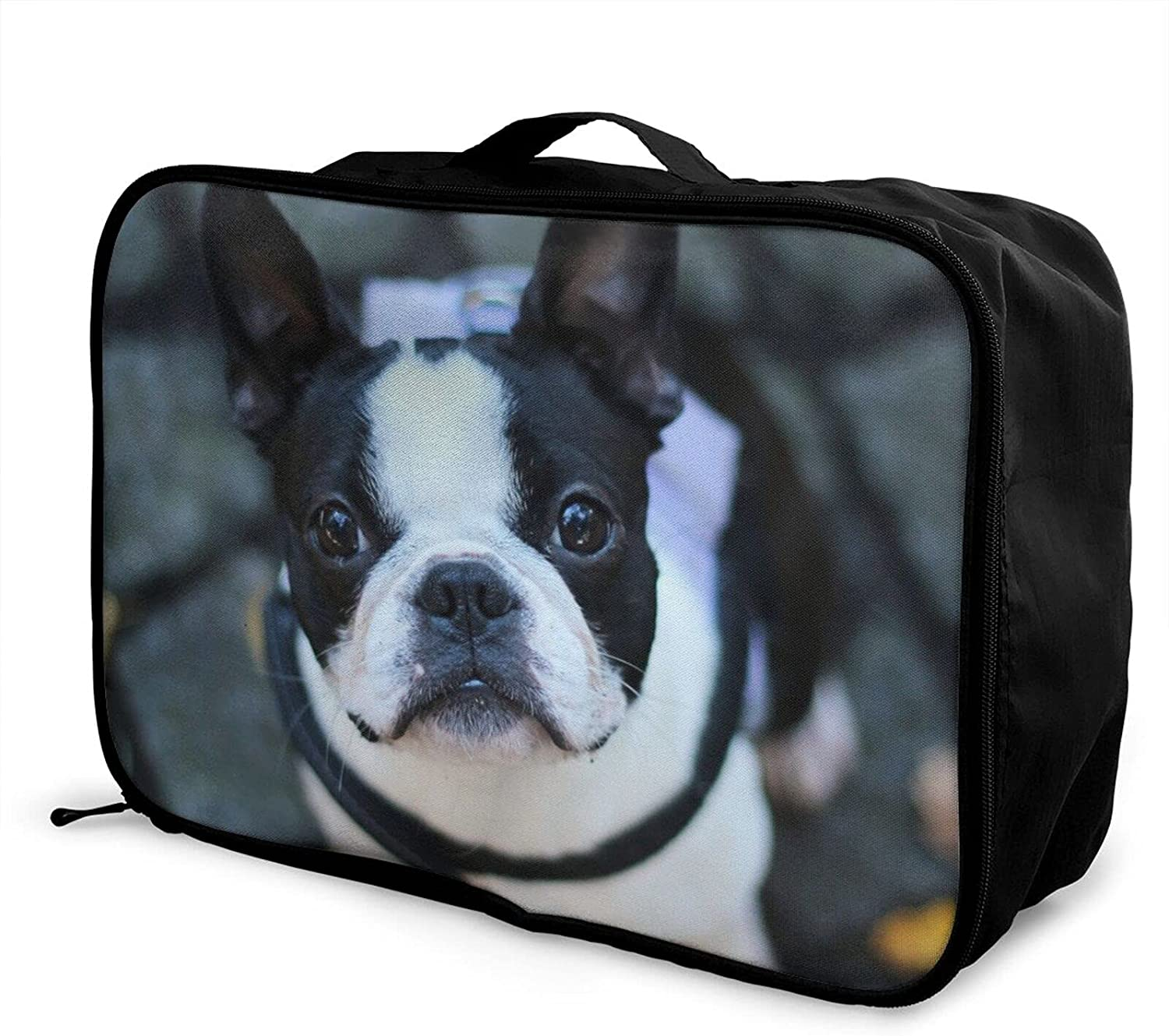 Excellence 55% OFF Foldable Travel Bag Tote French Carry-On D Cute Bulldog Dog