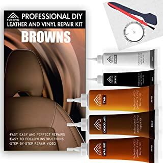 Leather Repair Kits for Couches Brown- Vinyl Repair Kit, Leather Repair Kit, Furniture Repair Kit - Leather Scratch Repair...