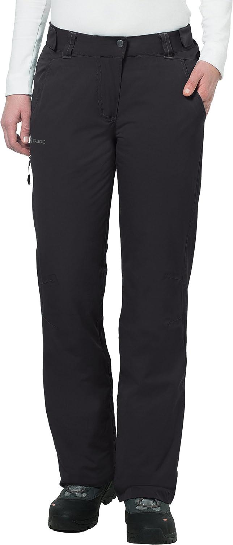 (42, Black)  Vaude Craigel Padded Women's Trousers