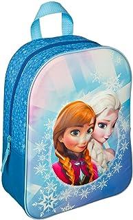 mochila encubierto con la aplicación 3D, Frozen niños Mochila, 30 cm, Azul