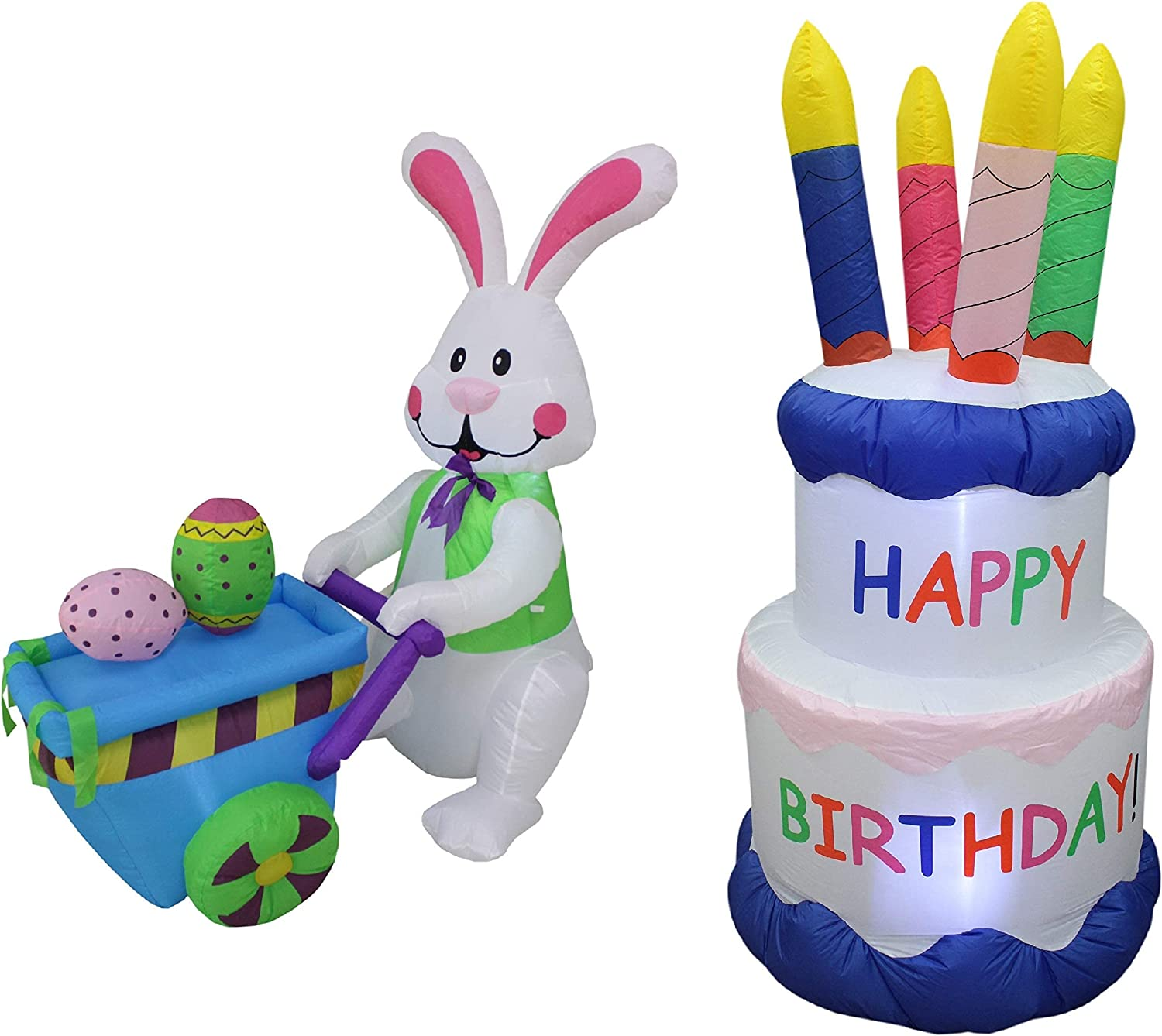 BZB Goods New York Mall Two Easter and Bundle Super-cheap Birthday Party Decorations Incl