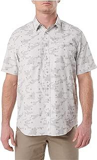 5.11 Tactical Men's Poly-Cotton Crestline Camo Short Sleeve Shirt, Button-Up, Style 71377