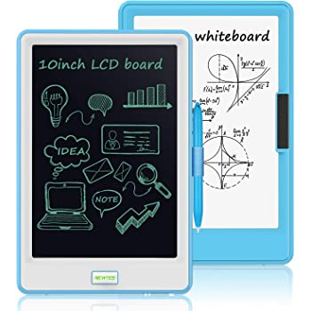 LCD Writing Tablet Colorful 10 Inches LCD Writing Tablet Electronic Doodle Pads Drawing Board Drawing Tablet for Kids Color : Orange, Size : 10 inches