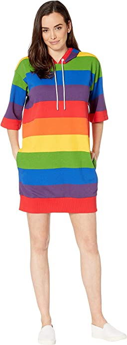 3f8cdd1e New. Rainbow Multi. 12. MICHAEL Michael Kors. Rainbow Stripe Short Sleeve  Dress