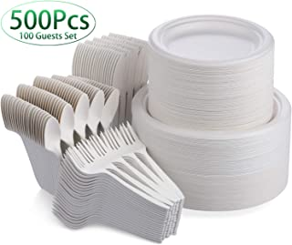eco friendly wedding tableware