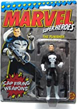 Toy Biz Marvel Super Heroes The Punisher (Cap Firing Weapons) Action Figure 4.75 Inches