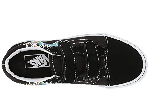 54fc423593 Vans Kids Old Skool V (Little Kid/Big Kid) | Zappos.com