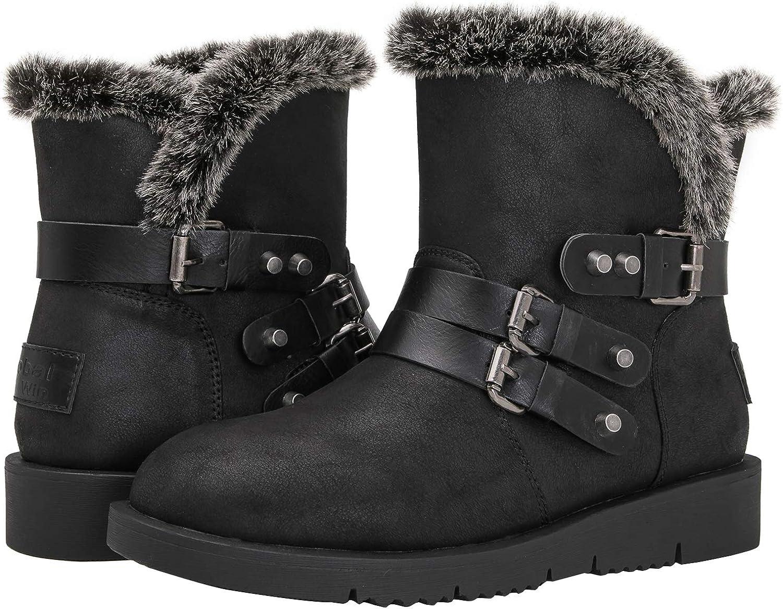 GLOBALWIN Women's 1836 Warm Winter Fashion Boots