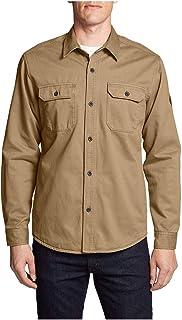 80ad6e91c3e9 Eddie Bauer Men s Legend Wash Flannel-Lined Shirt Jacket