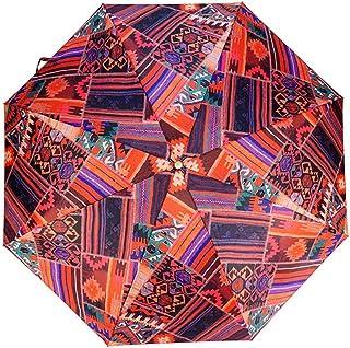 JSSFQK 超軽量ミニ折りたたみ傘男性と女性の雨と雨の傘防風傘 傘 (色 : B)