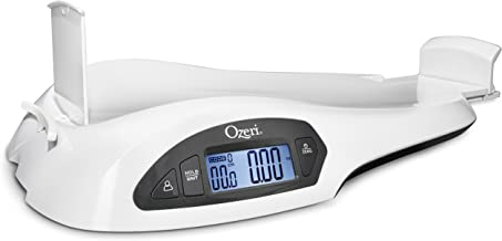 Ozeri All-in-One Baby and Toddler Scale – with Weight and Height Change Detection