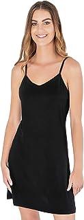 فستان من الخيزران للنساء للارتداء كملابس داخلية ، ملابس نوم ، قميص نوم