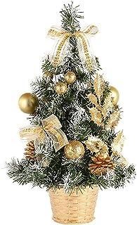 aipipl Décorations d'arbre de Noël Petit Arbre de Noël Mini Arbre de Noël Artificiel Arbre de Noël décoré pour Les achats ...