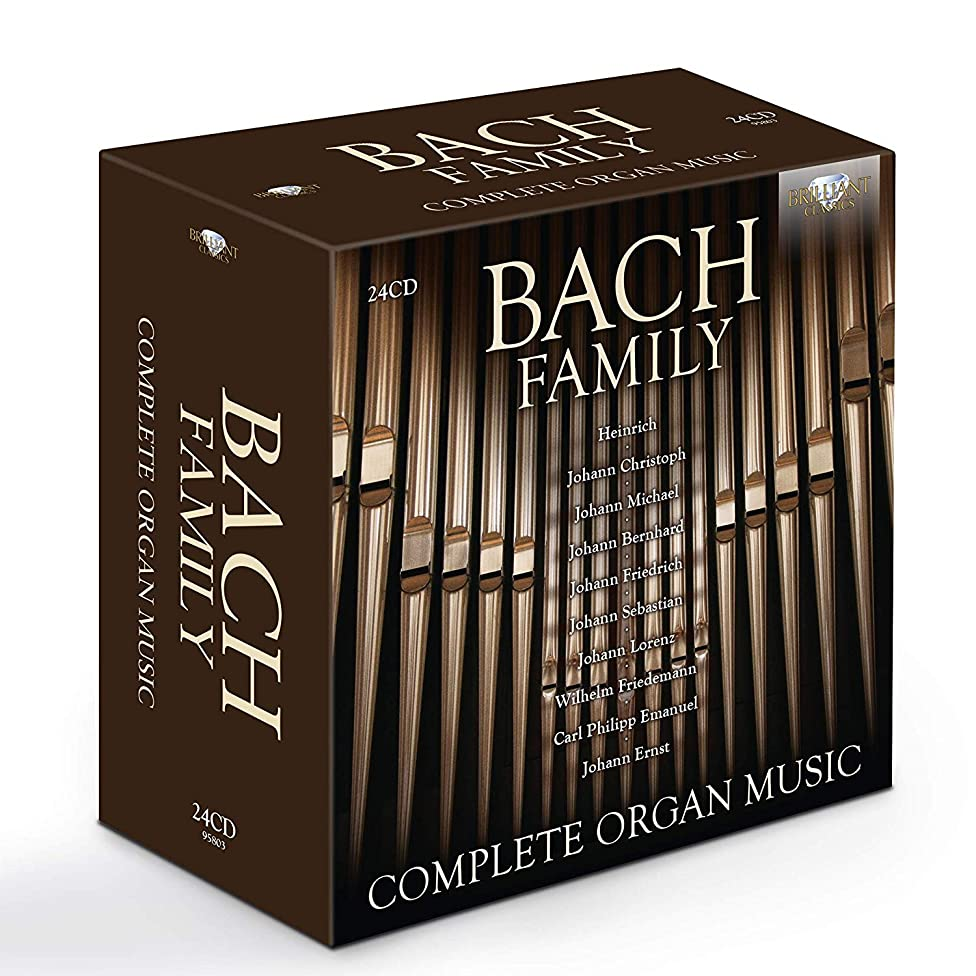 Bach Family - Complete Organ Music