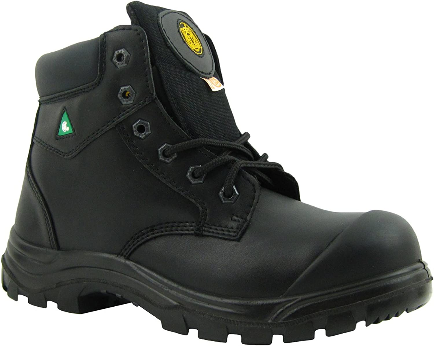 Tiger Safety CSA Men's 6 Inch Lightweight Leather Work Safety Boots - 3055
