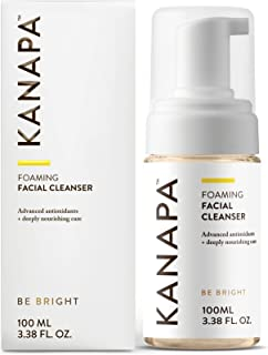 Xtend-Life Kanapa Foaming Facial Cleanser for Women, Dual Action Face Wash and Toner with Manuka Honey, 3.38 oz (100 ml)