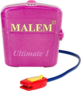 Malem Ultimate Bedwetting Enuresis Alarm - Pink 1 Tone w/Vibration
