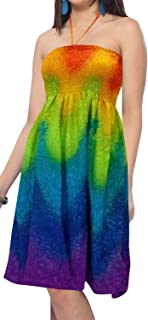 hawaiian tube top dresses