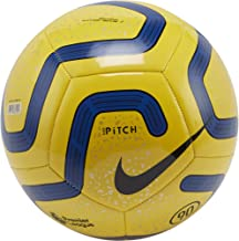 Nike Pitch Premier League Football 2019-2020 - Balón de fútbol (talla 5), color amarillo, azul y negro