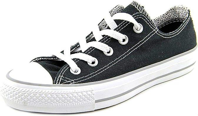 Converse Chuck Taylor All Star Double Tongue Ox Polka Dots Black White 546914F
