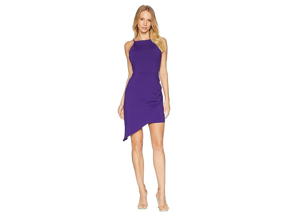Susana Monaco Asymmetrical Gathered Dress (Fig) Women