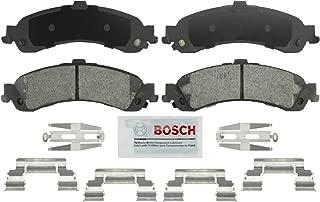 Bosch BSD834 Severe Duty Disc Brake Pad Set for Select Cadillac Escalade, ESV, EXT, Chevrolet Avalanche, Silverado, Suburban, Tahoe, GMC Sierra, Yukon, XL - REAR