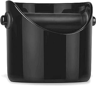 OBOSOE ブラックコーヒーグラインドボックス1PCをノックエスプレッソダンプビンコーヒーグラインドをノック