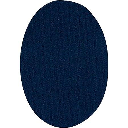 Rodilleras para chándal | Parches termoadhesivos para reparar ropa deportiva. 6 Coderas o rodilleras de 13,9 x 9,3 cms. Color: azul marino