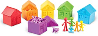 Learning Resources All About Me Sorting Neighborhood, Fine Motor & Sorting Skills, Montessori Toys, Special Education Acti...