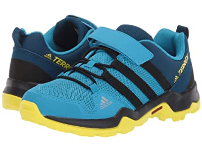 adidas Outdoor Kids Terrex AX2R CF (Little Kid/Big Kid) (Shock Cyan/Black/Shock Yellow) Boys Shoes