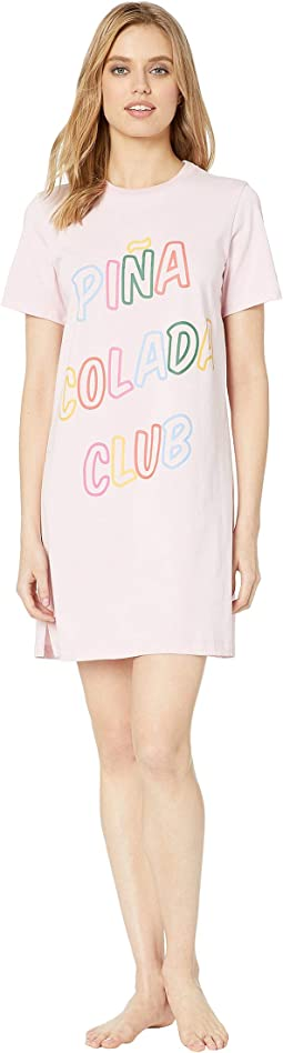 Pina Colada Club T-Shirt Dress