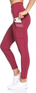 BSP Better Sports Performance Women's Active Leggings - High Waisted Workout Pants with Double Phone Pocket
