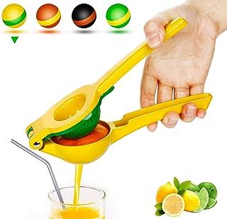 Yimobra Manual Lemon Lime Squeezer, Metal Hand Citrus Juicer Press for Lemons, No Pulp or..
