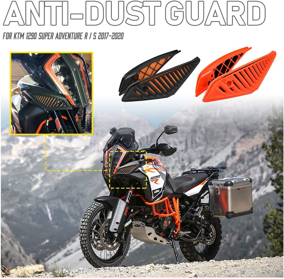 Fatexpress Air Filter Dust Protector For K T M 1290 Super Adventure Adv S R 2017 2018 2019 2020 Motorcycle Dustproof Anti Dust Cover Guard Protection Accessories Black Amazon Co Uk Car Motorbike
