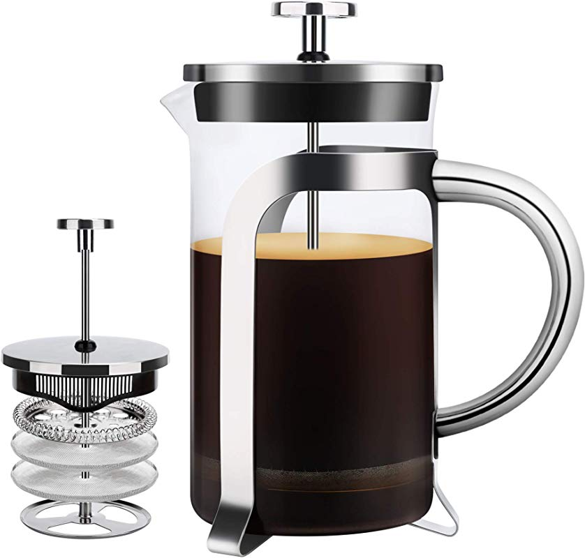 French Press Coffee Maker 20OZ 600ML
