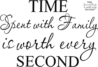 Best time with family is worth every second Reviews