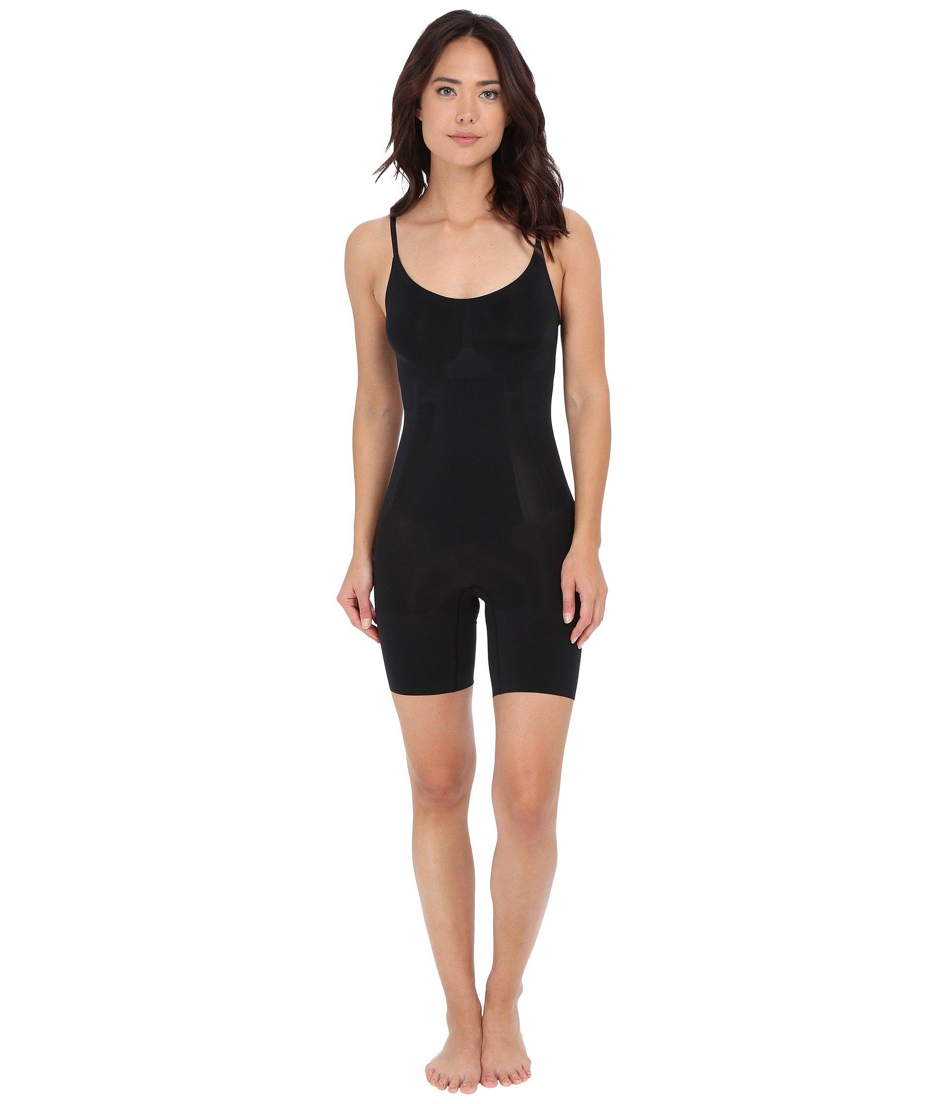 Black Bodysuit Spanx Mid Oncore Very thigh HgX7S