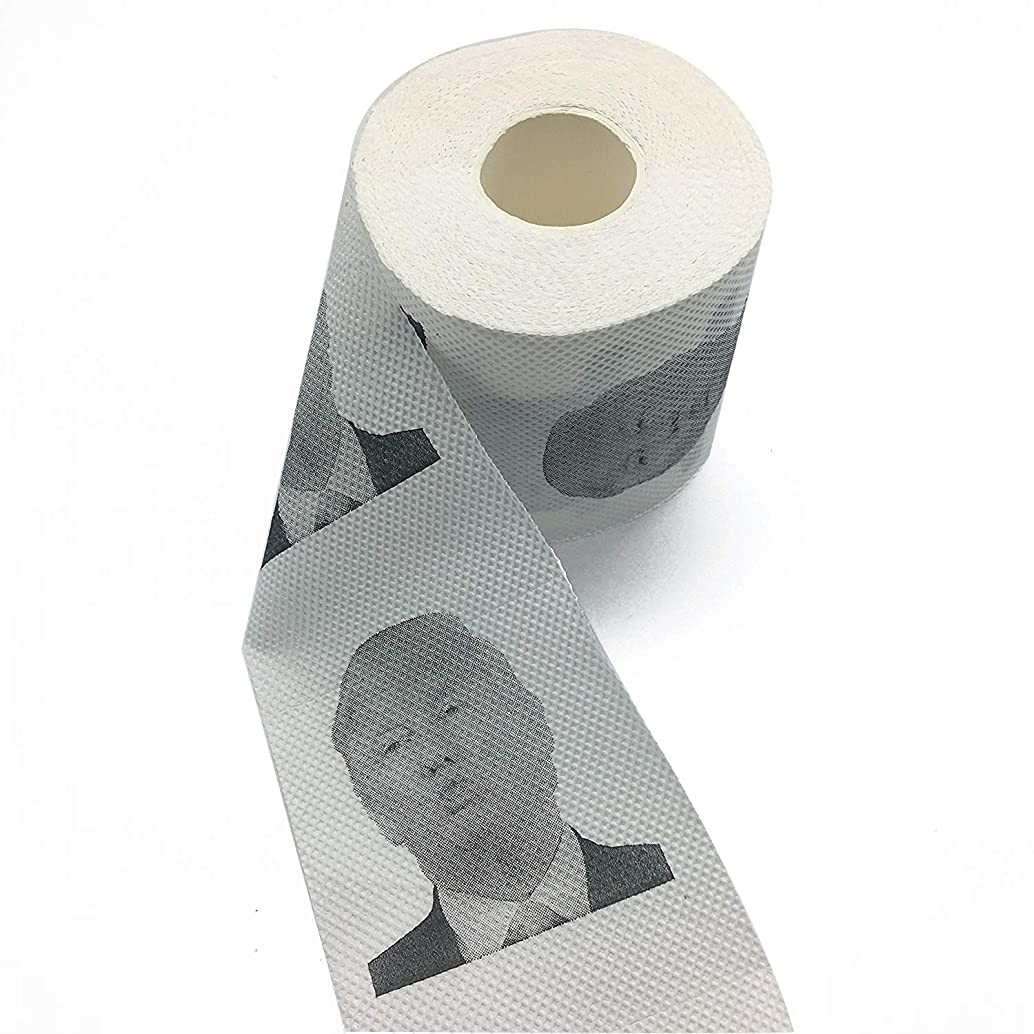 3 Rolls Pouty Donald Trump Toilet Paper, Novelty Political Gag Gift