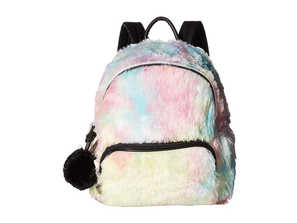 Luv Betsey Emma Plush Backpack (Multi) Backpack Bags