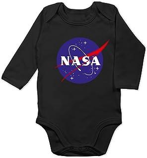 Shirtracer Up to Date Baby - NASA Meatball Logo - Baby Body Langarm