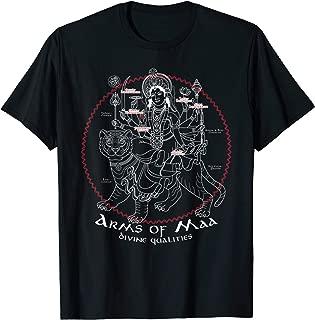 Goddess Durga T Shirt   Hinduism Gift   Hindu & Gods Deities T-Shirt