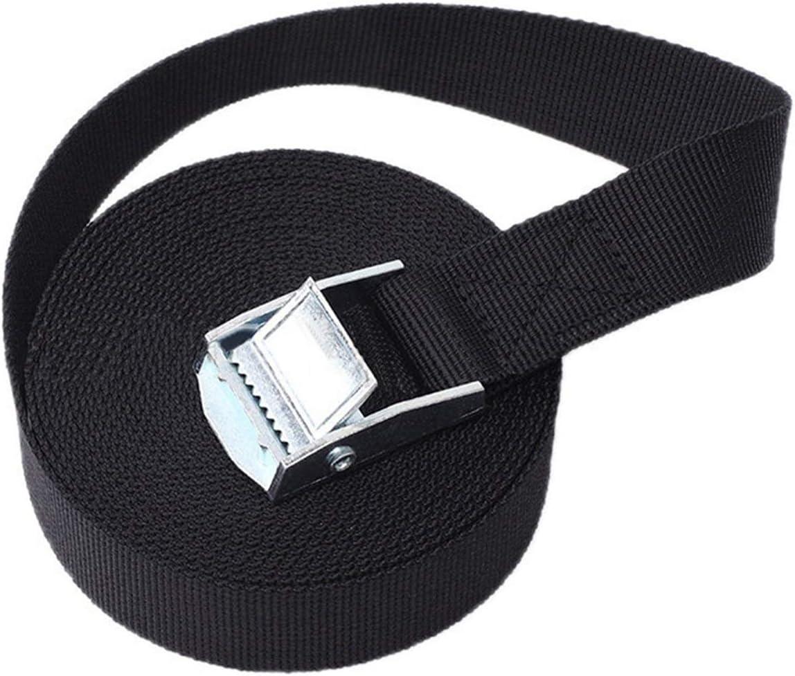 ZHU-CL Winch Rope 1M 2M Max 65% OFF 3M 2021 4M Carg Black Belt 5M Buckle Tie-Down